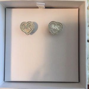 Michael Kors heart earrings